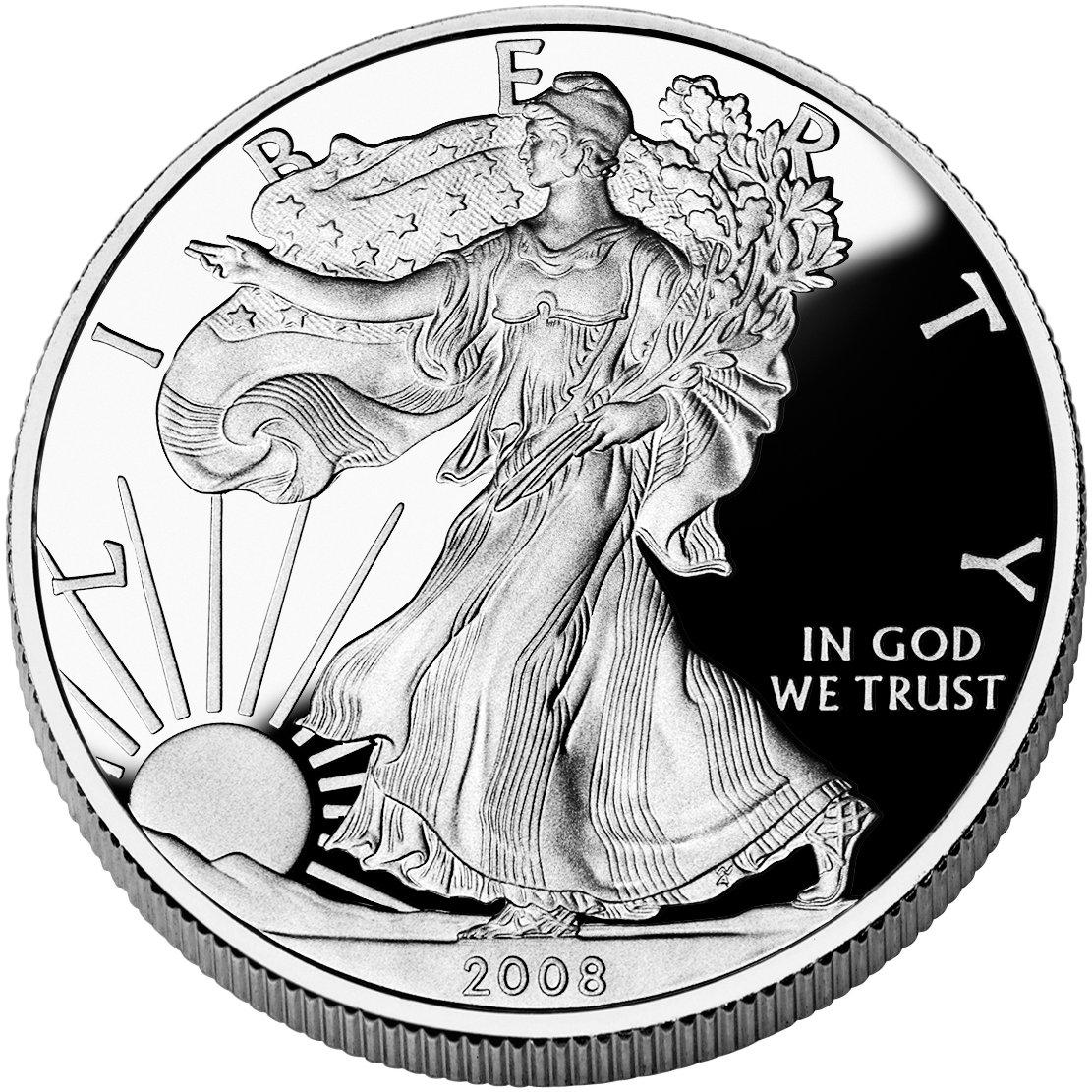Proof Silver Eagle 2008-W