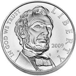 US Commemorative Dollar Uncirculated 2009-P Abraham Lincoln