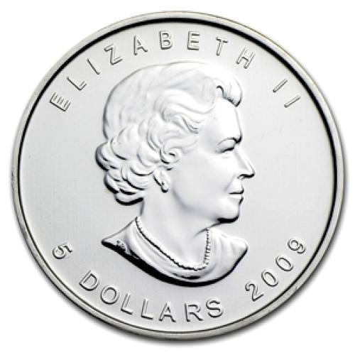 2009 Silver Maple Leaf 1 oz Uncirculated
