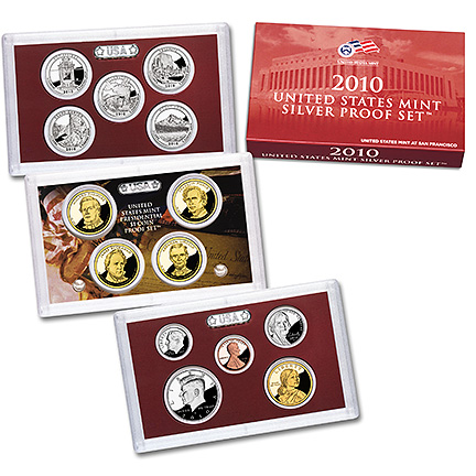 US Proof Set 2010 Silver