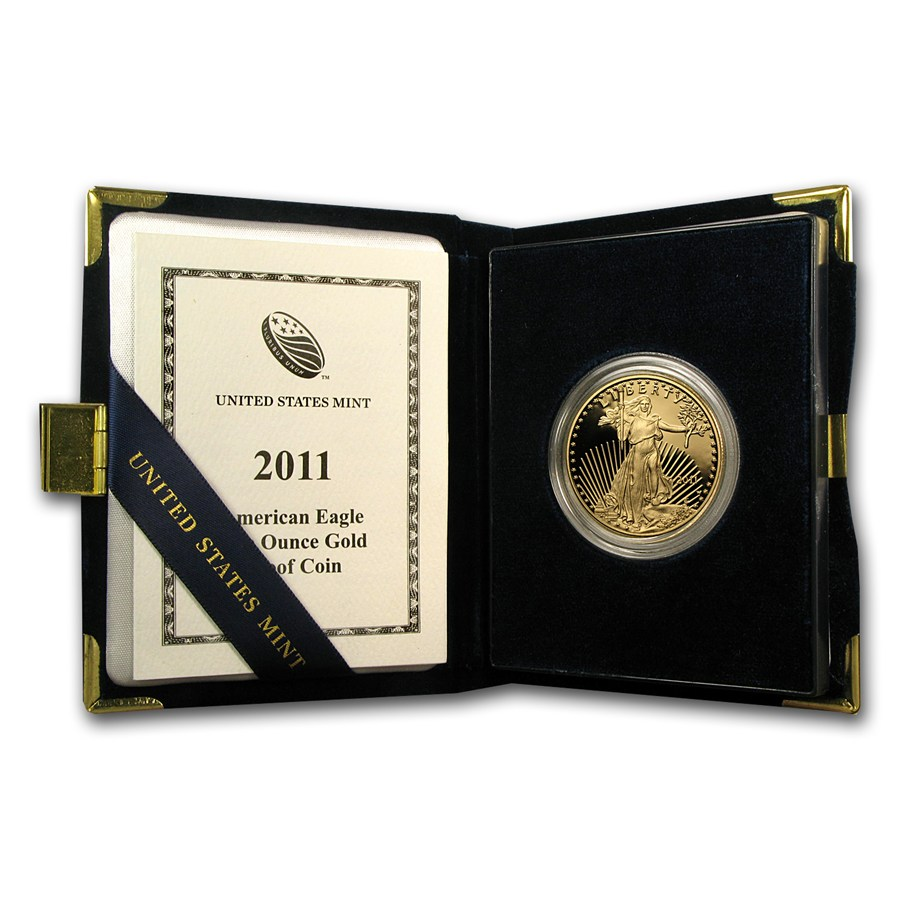 Proof American Gold Eagle One Ounce 2011