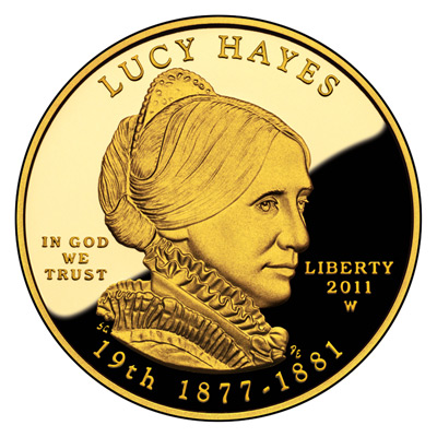 First Spouse 2011 Lucy Hayes Proof