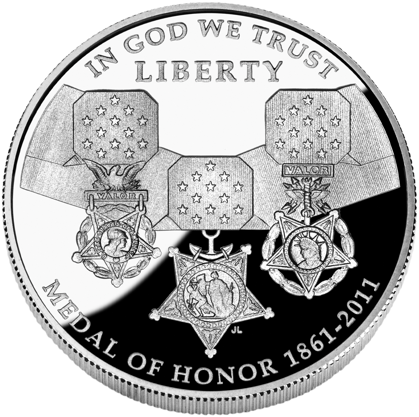 US Commemorative Dollar Proof 2011-P Medal Of Honor