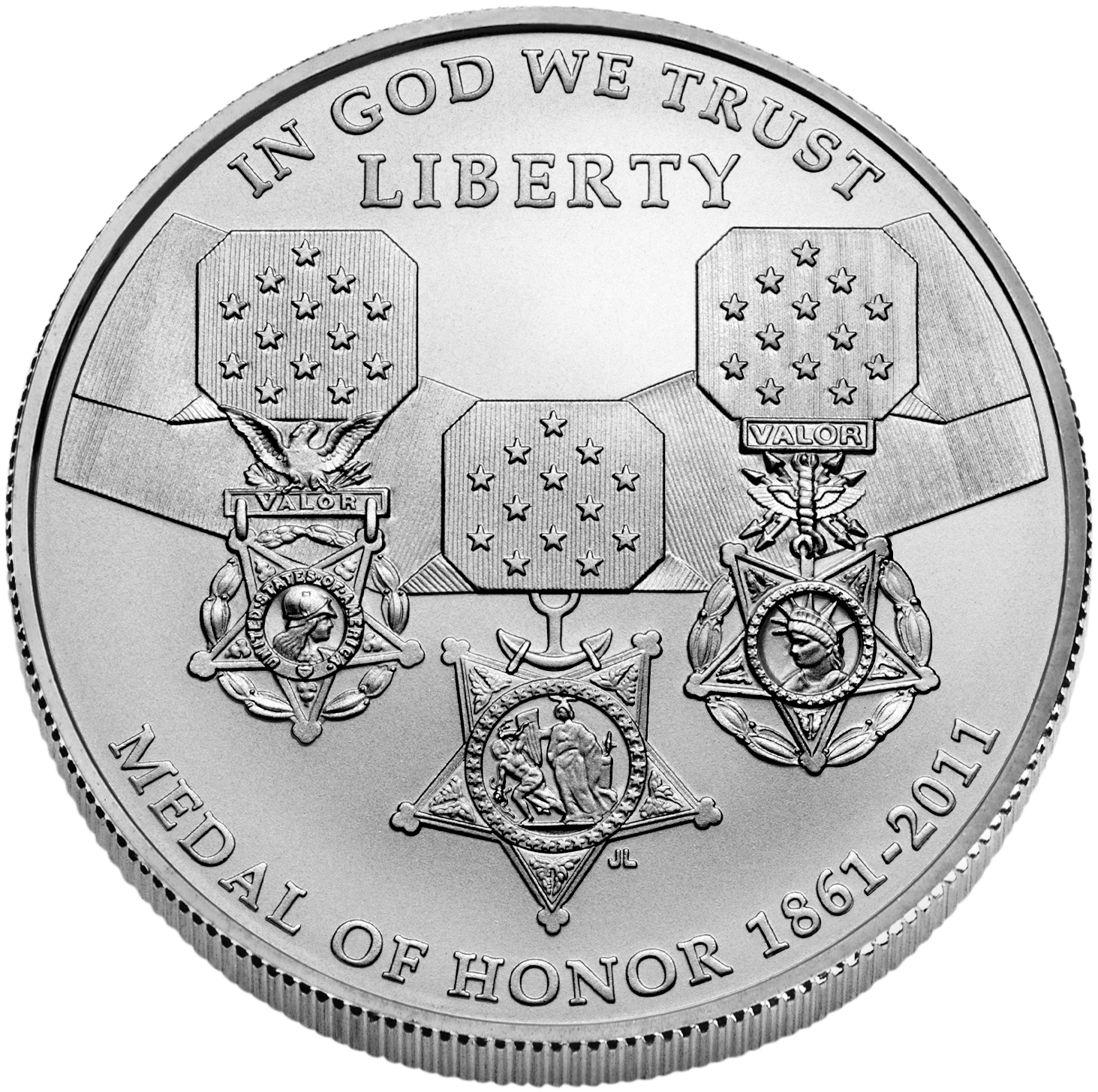 US Commemorative Dollar Uncirculated 2011-S Medal Of Honor
