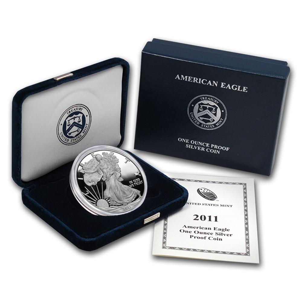 Proof Silver Eagle 2011-W