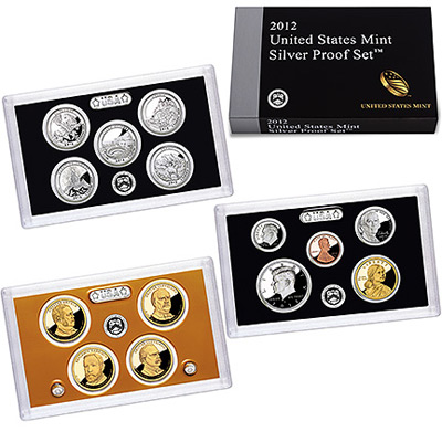 US Proof Set 2012 Silver