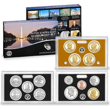 US Proof Set 2013 Silver
