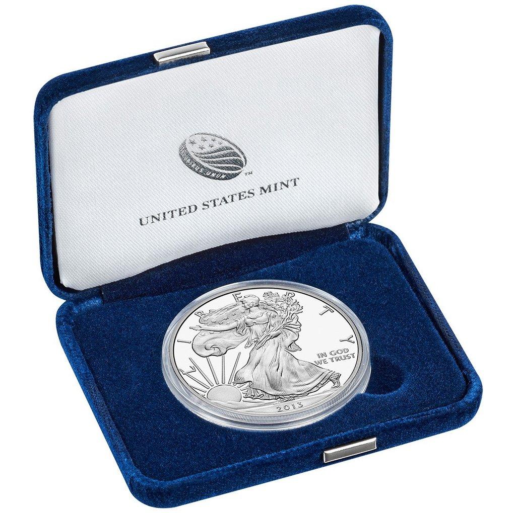 Proof Silver Eagle 2013-W