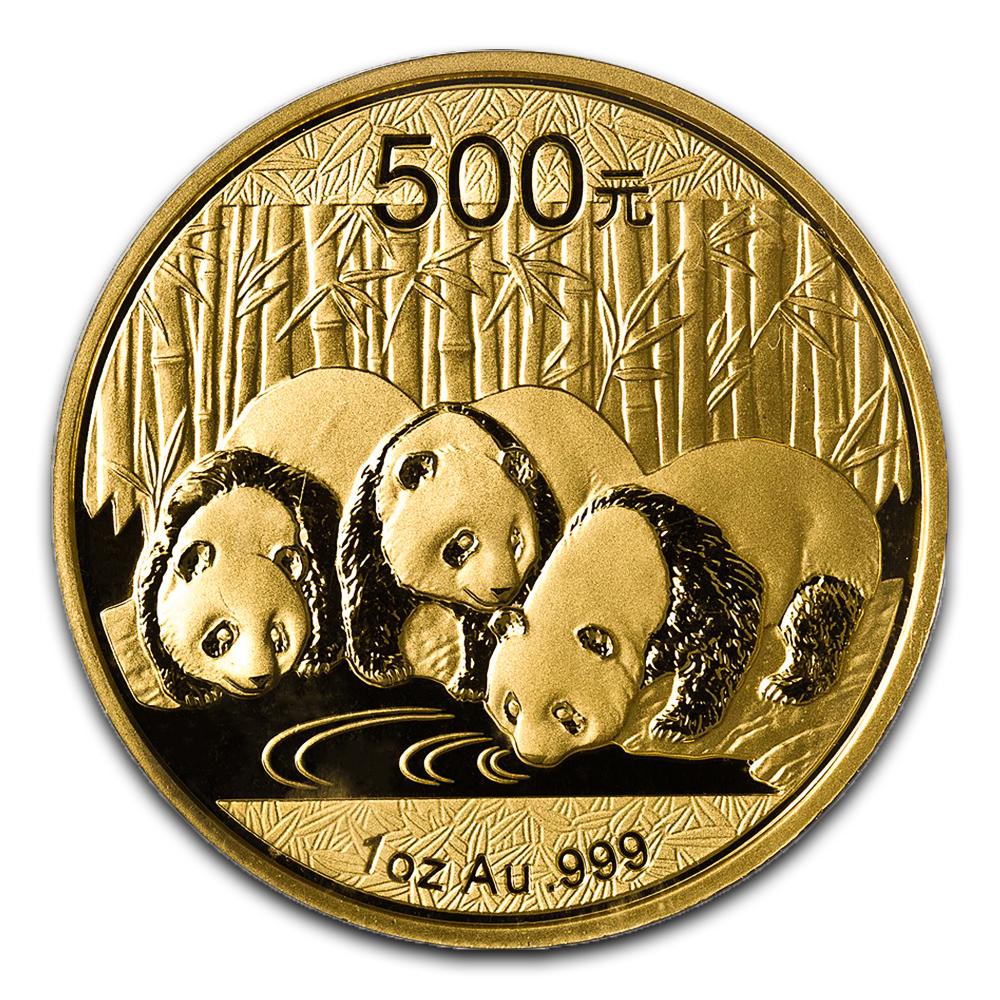 Chinese Gold Panda 1 Ounce 2013