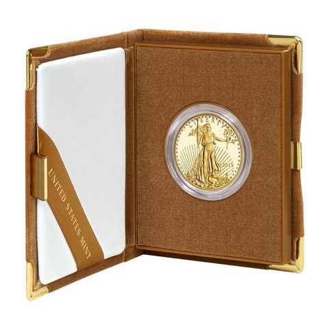 Proof American Gold Eagle One Ounce 2014