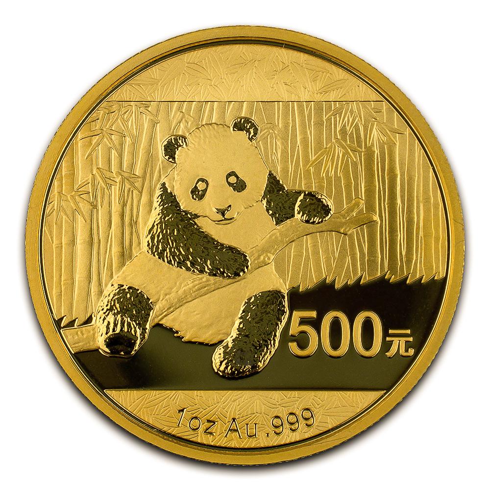 Chinese Gold Panda 1 Ounce 2014