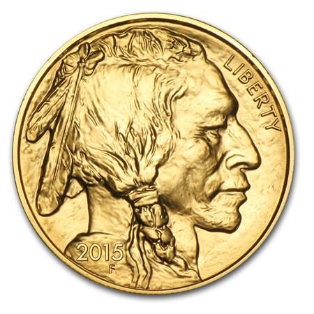 Uncirculated Gold Buffalo Coin One Ounce 2015