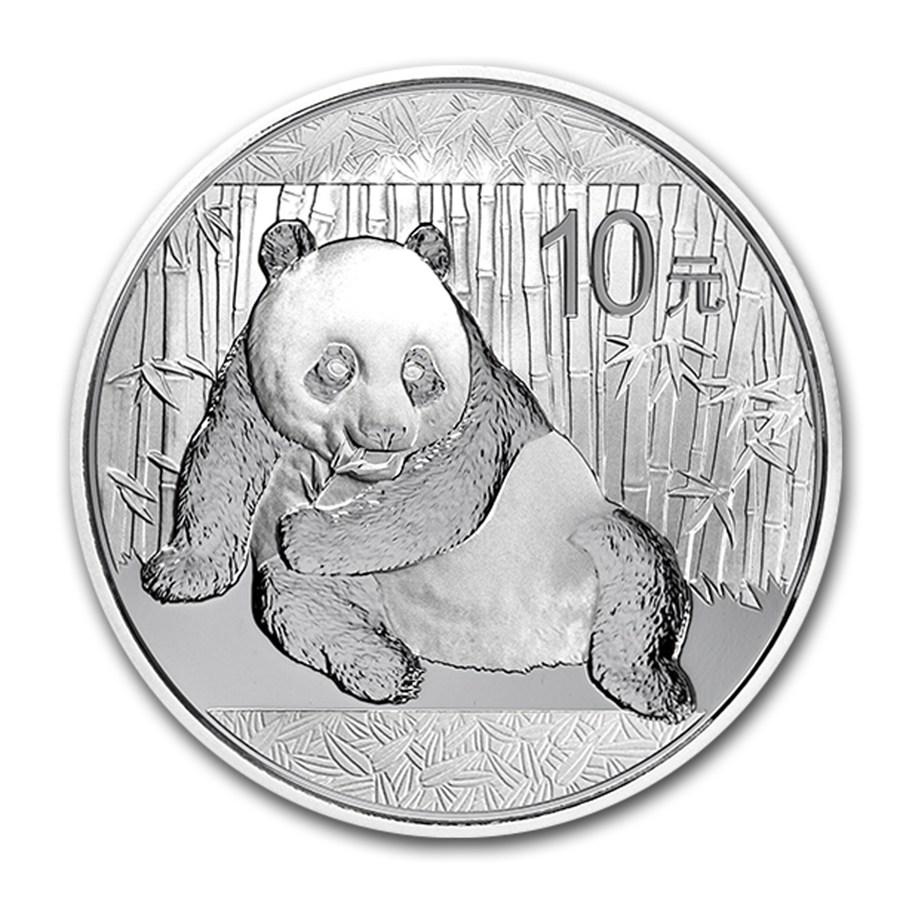 2015 Chinese Silver Panda 1 oz