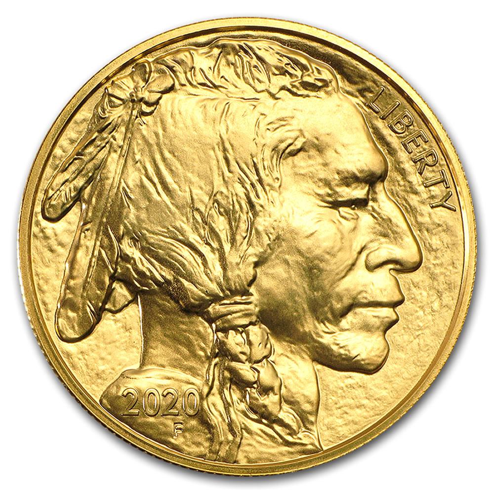 Uncirculated Gold Buffalo Coin One Ounce 2020