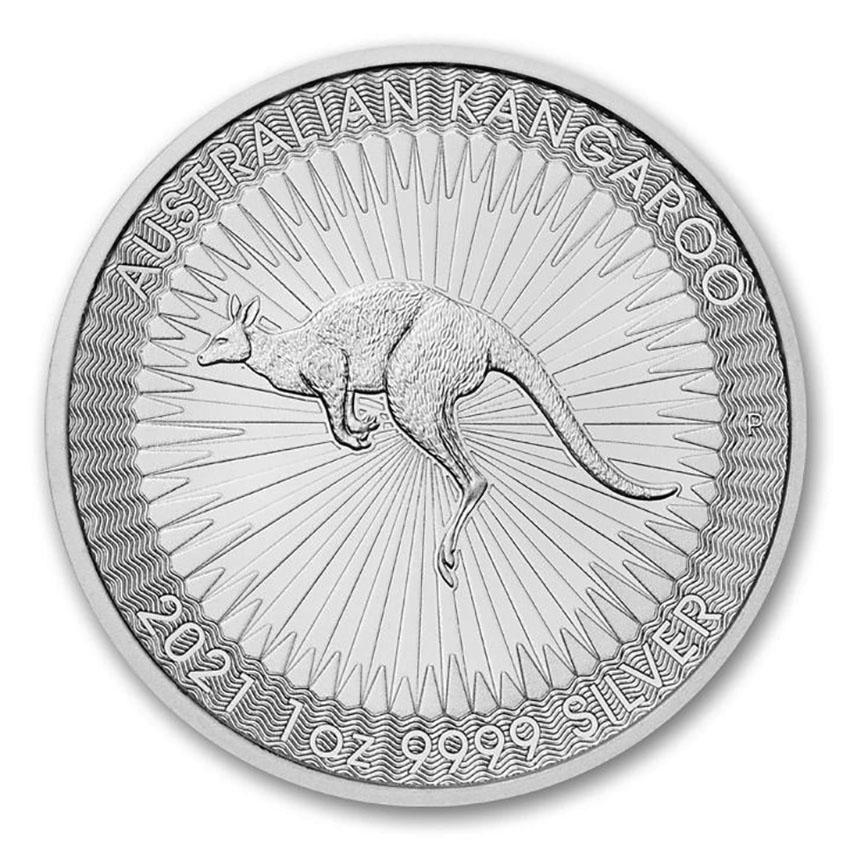 2021 Australia 1 oz Silver Kangaroo BU