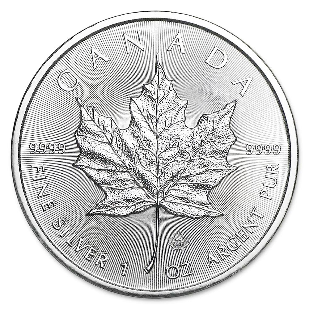 2021 Silver Maple Leaf 1 oz Uncirculated