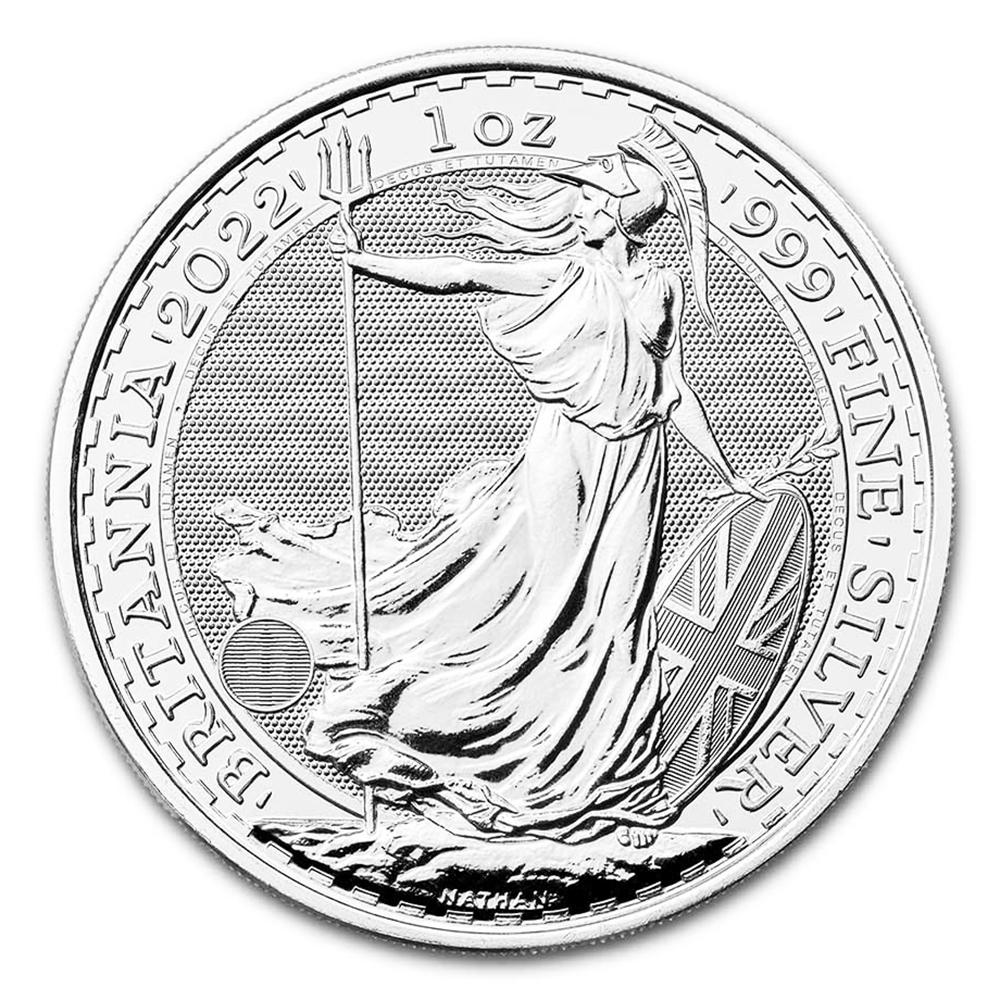 2022 1 oz Uncirculated Silver Britannia