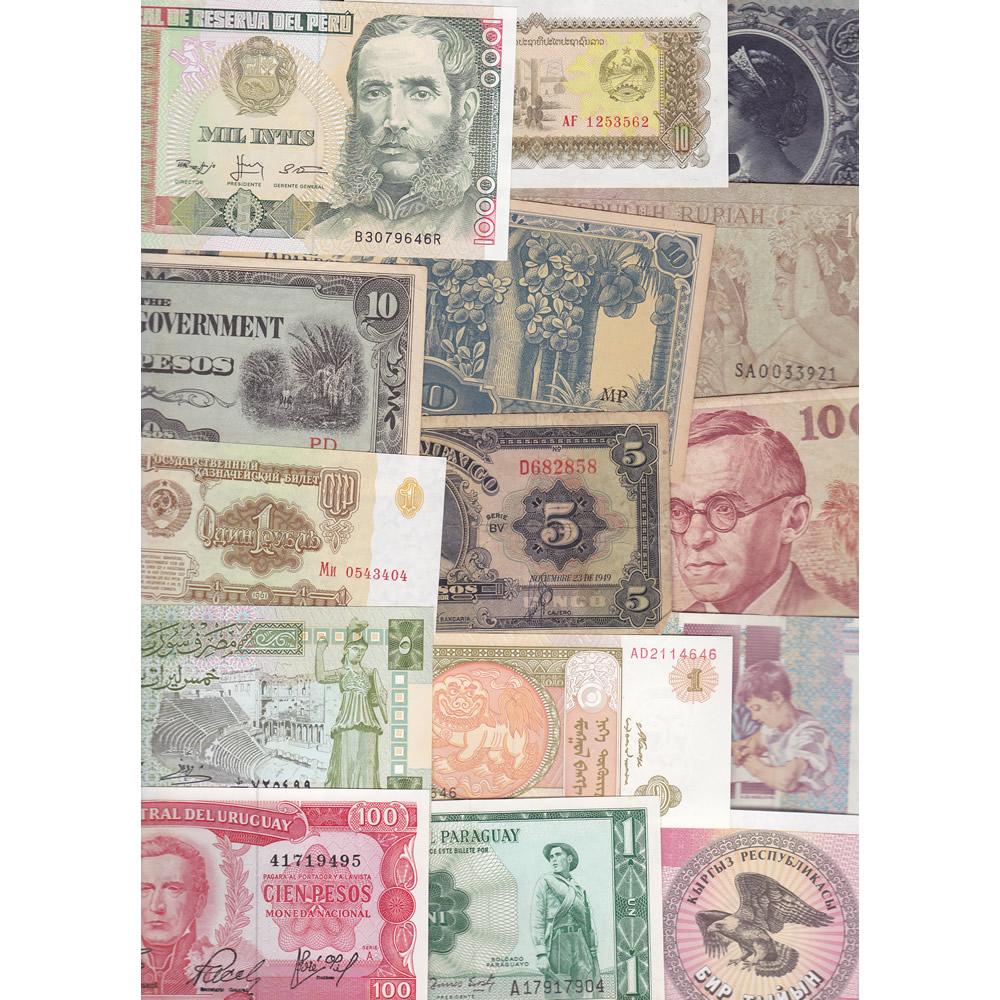 World Traveler: 25 banknotes 25 countries