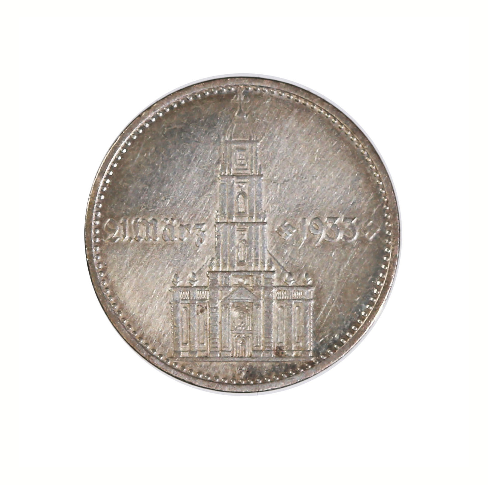 Germany 2 reichsmark 1934 Potsdam Chuch with date