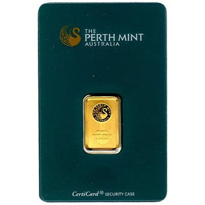 Perth Mint 5 Gram Gold Bar