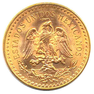 Mexico 50 Pesos Gold Coin