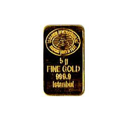 5 Gram Gold Bar - Random Manufacturer