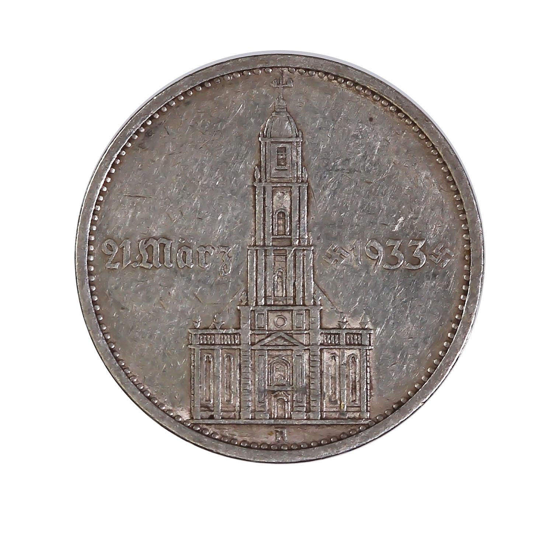 Germany 5 reichsmark 1934 Potsdam Church with date