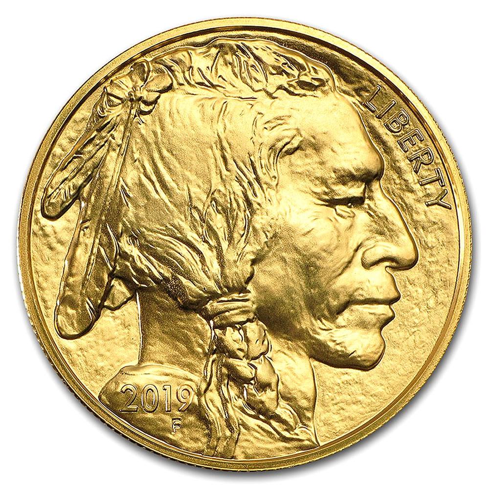 Uncirculated Gold Buffalo Coin One Ounce (Random Year)