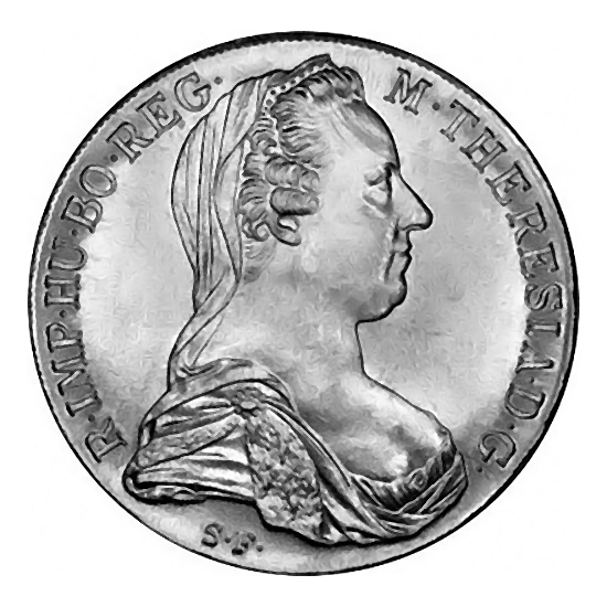 Austria Maria Theresa Thaler 1780 restrike BU