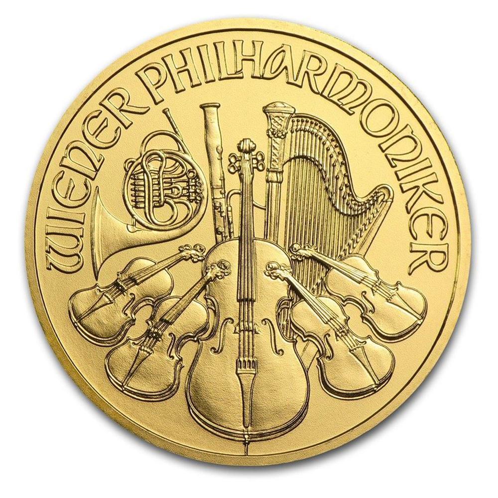 Austrian Gold Philharmonic 1 Ounce - Random Year