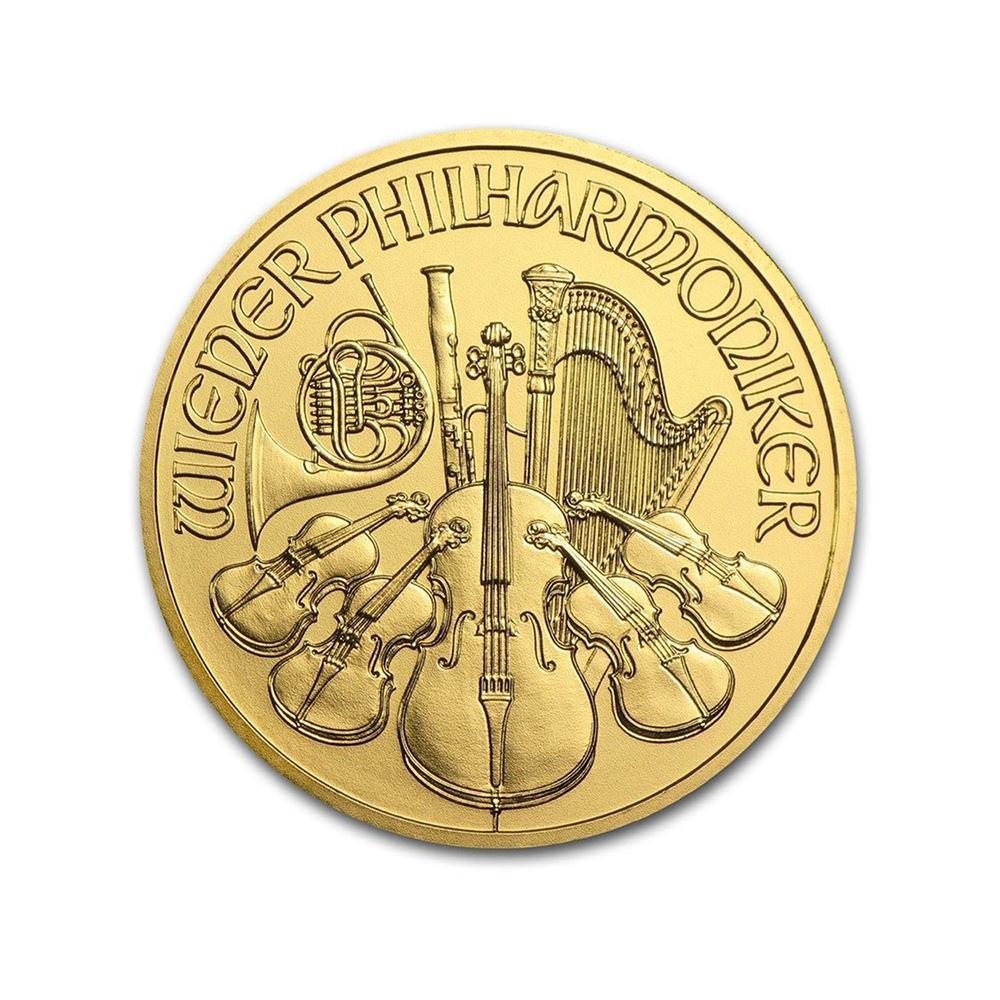 Austrian Gold Philharmonic 1/4 Ounce - Random Year