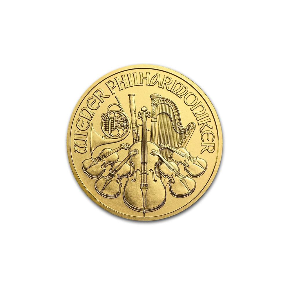 Austrian Gold Philharmonic 1/10 Ounce - Random Year
