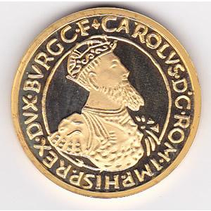 Belgium 50 ecu gold Proof half-ounce 1987-1988