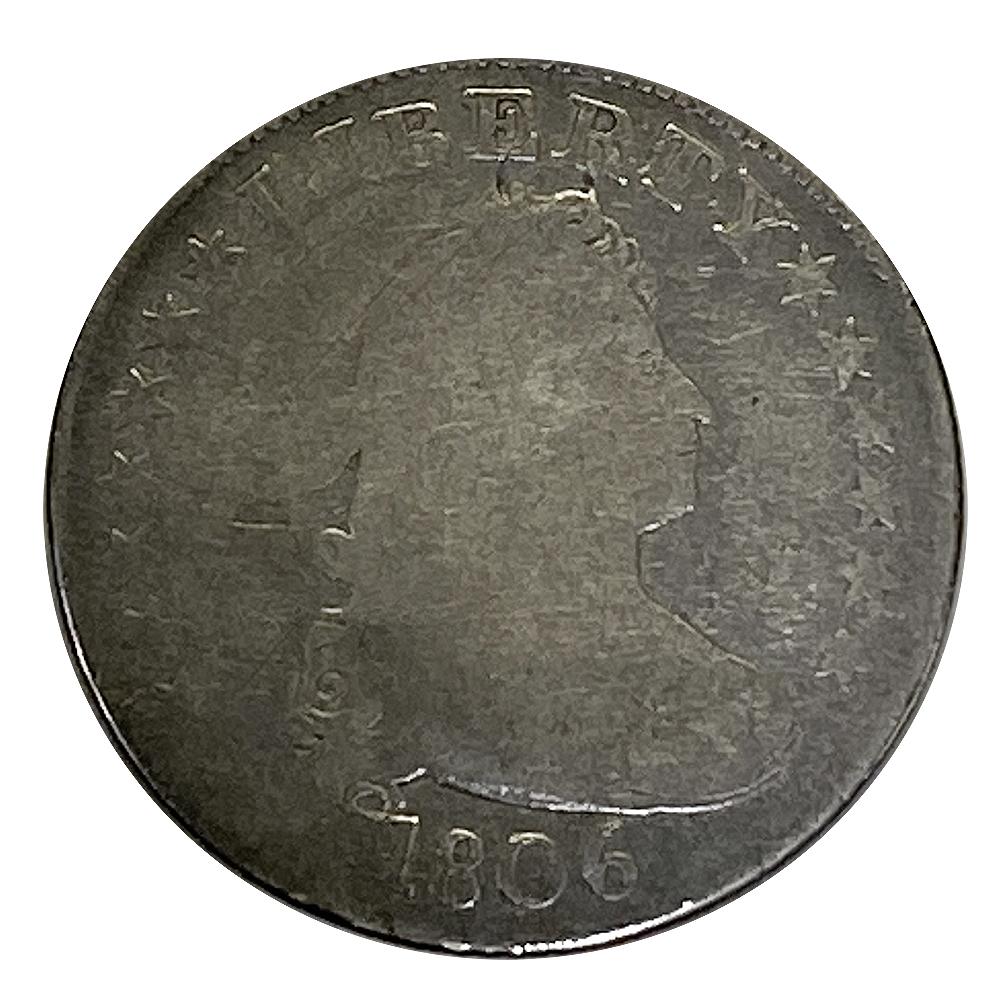Draped Bust Quarter 1806 G/AG