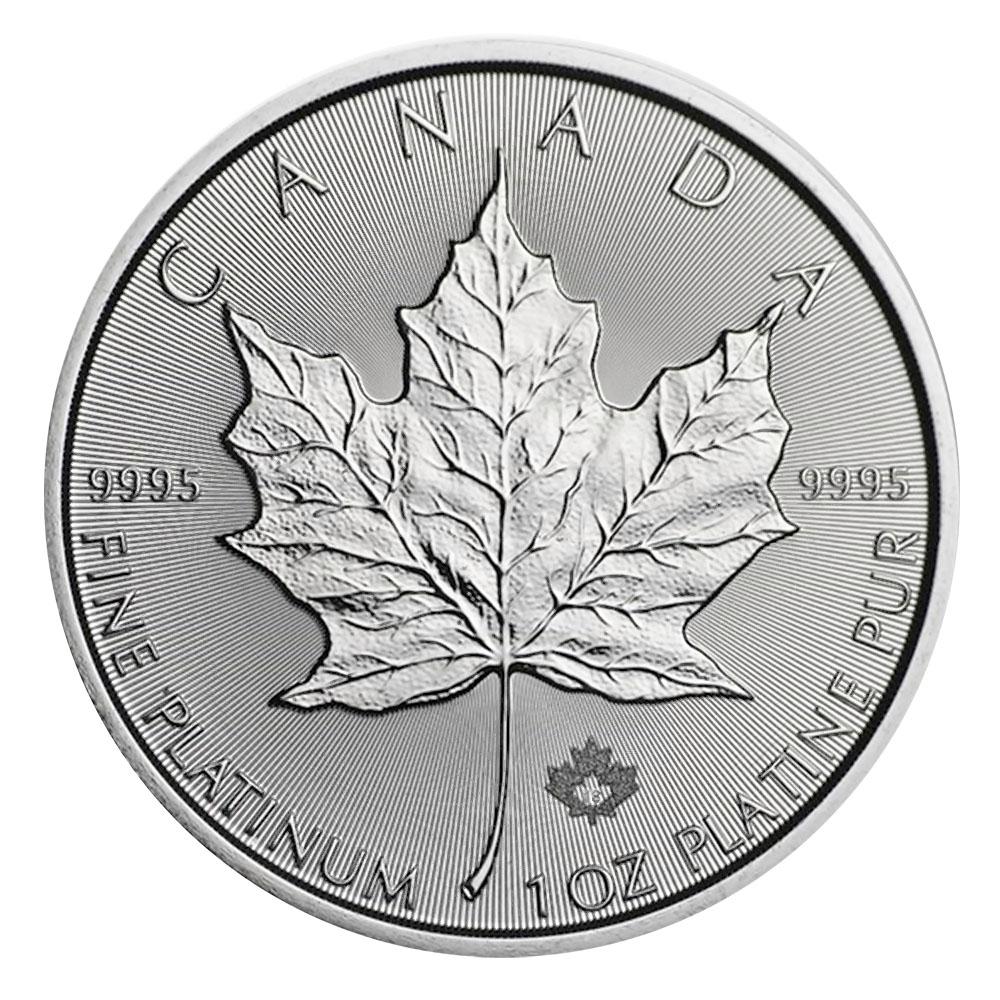 2021 Platinum 1oz Canadian Maple Leaf