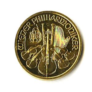 Austrian Gold Philharmonic 1/2 Ounce - Random Year