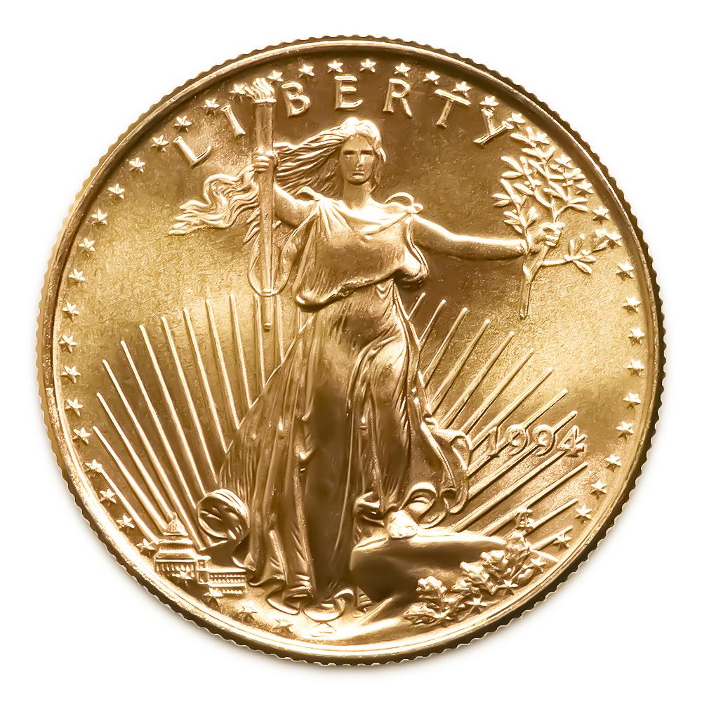 1994 American Gold Eagle 1/10 oz Uncirculated