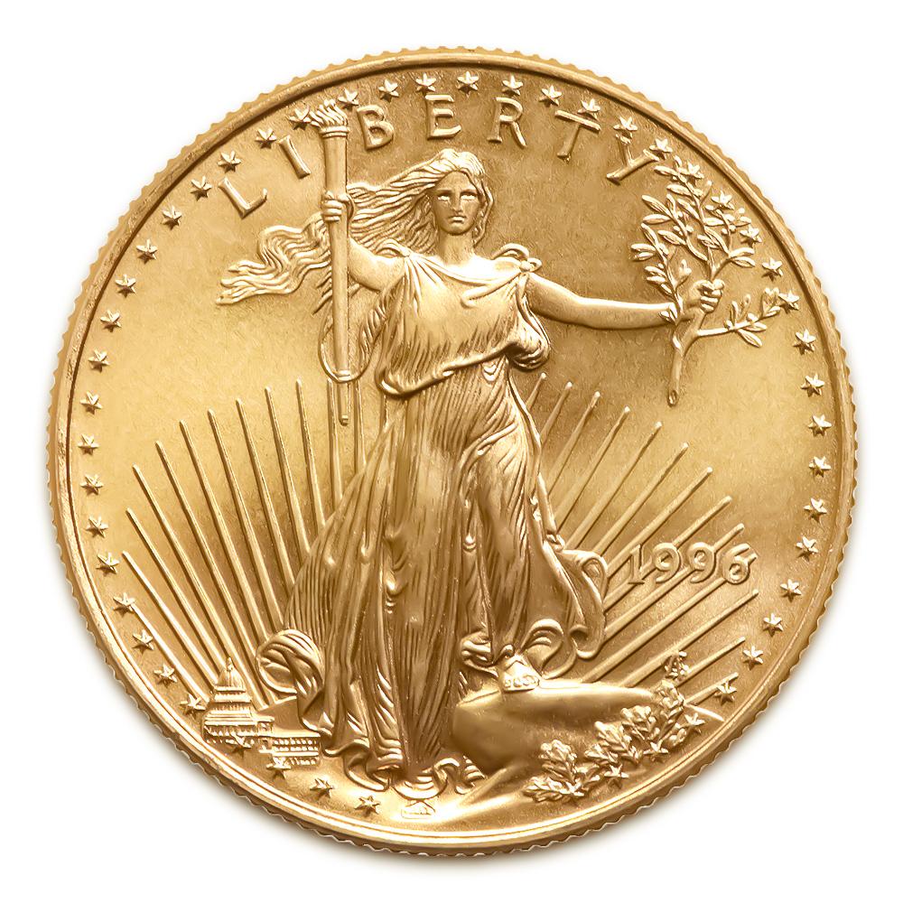 1996 American Gold Eagle 1/10 oz Uncirculated