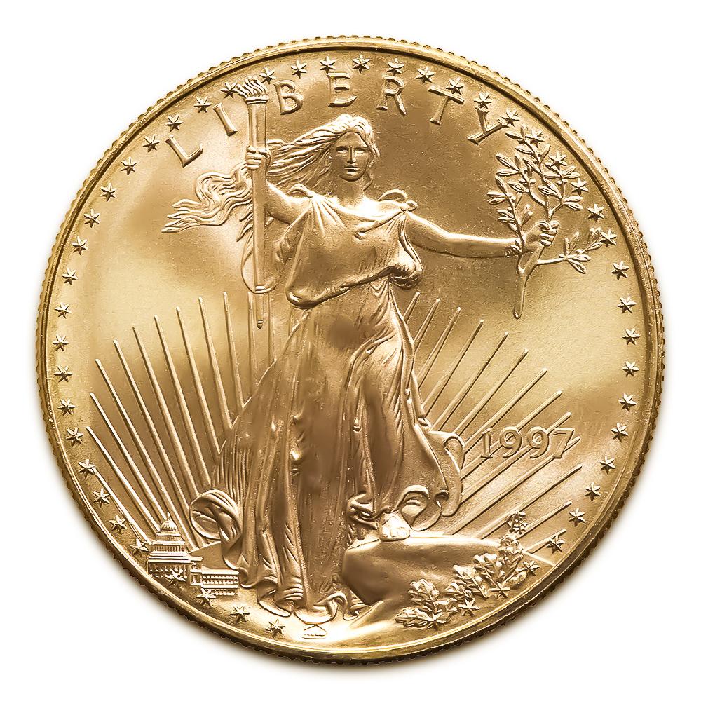 1997 American Gold Eagle 1/2 oz Uncirculated