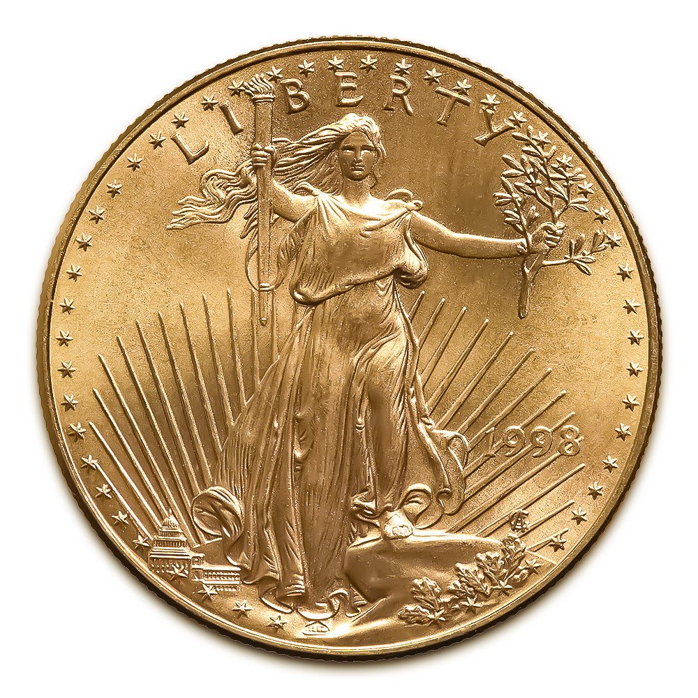 1998 American Gold Eagle 1oz Uncirculated