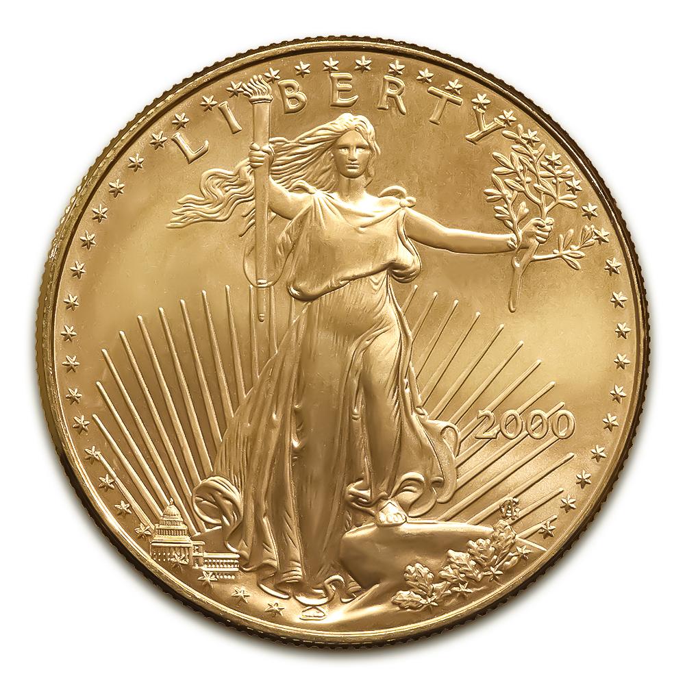 2000 American Gold Eagle 1/4 oz Uncirculated
