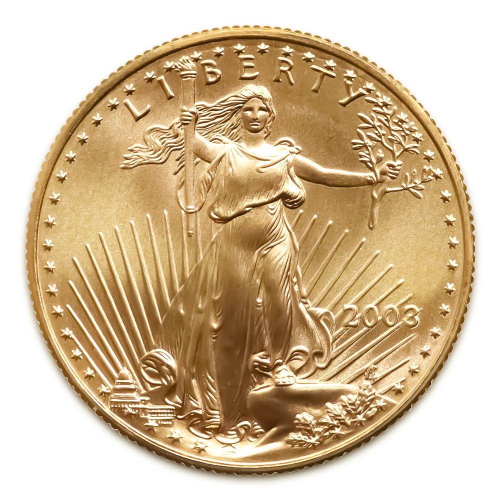 2003 American Gold Eagle 1/10 oz Uncirculated