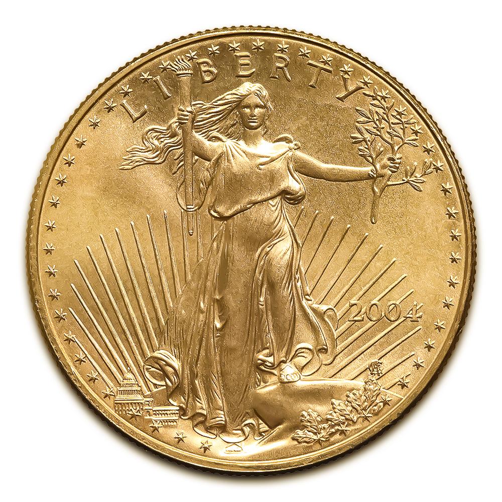 2004 American Gold Eagle 1/2 oz Uncirculated