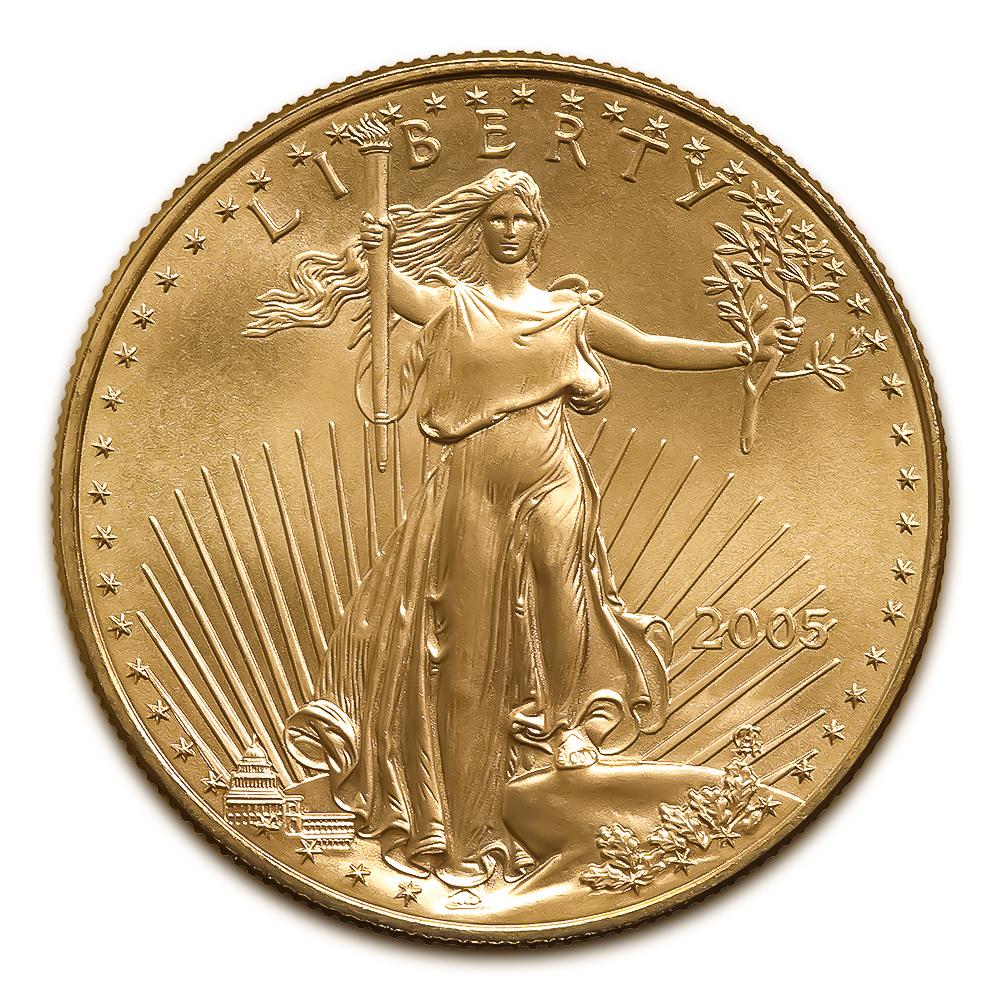 2005 American Gold Eagle 1/2 oz Uncirculated