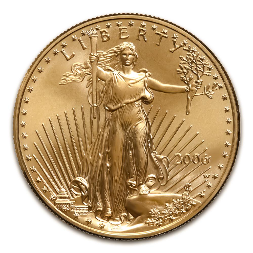 2006-W American Gold Eagle 1/10 oz Uncirculated