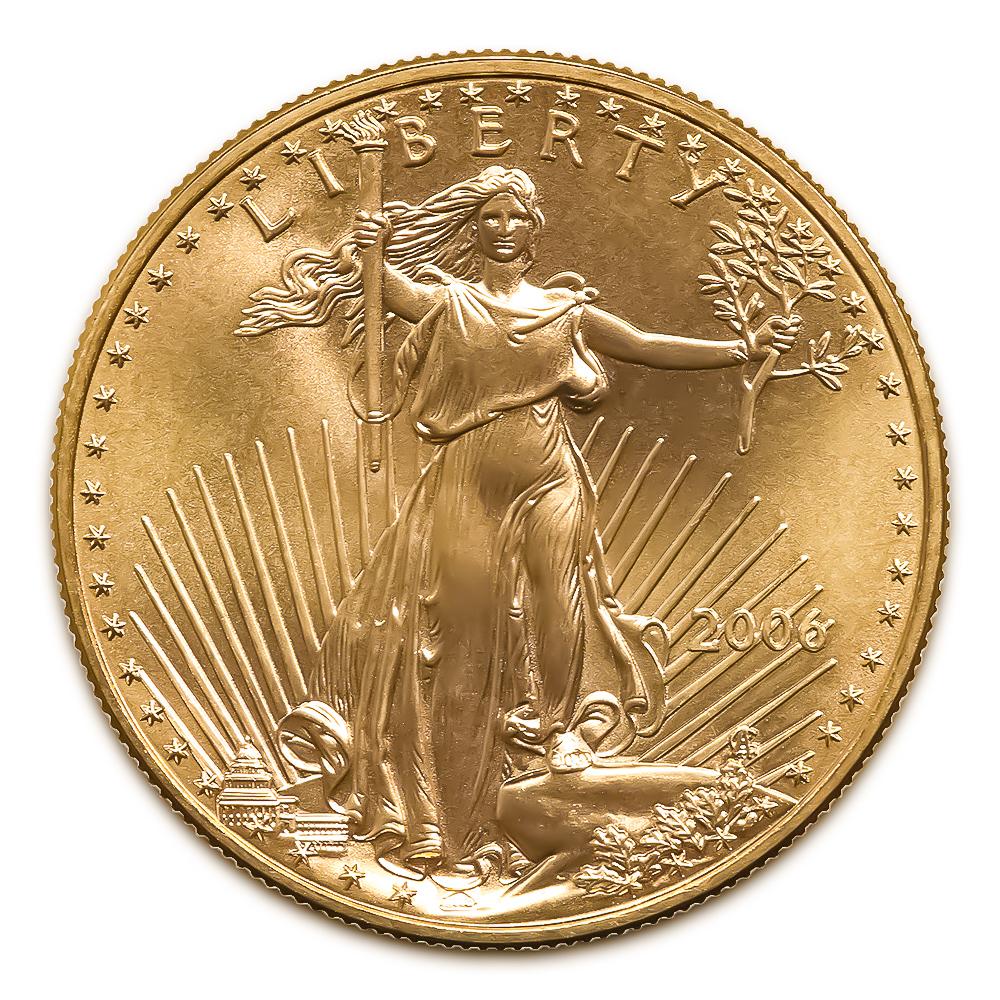 2006 American Gold Eagle 1/2 oz Uncirculated