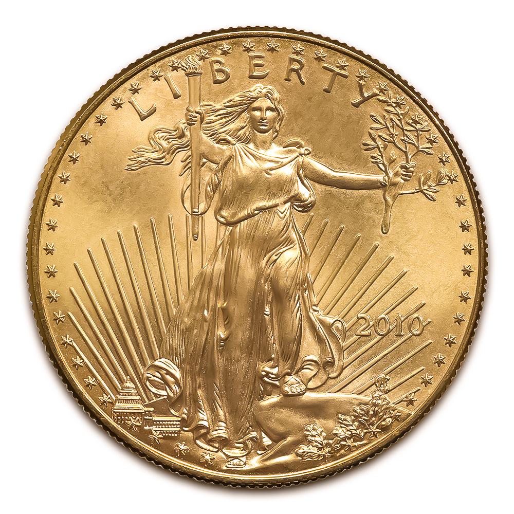 2010 American Gold Eagle 1/4 oz Uncirculated