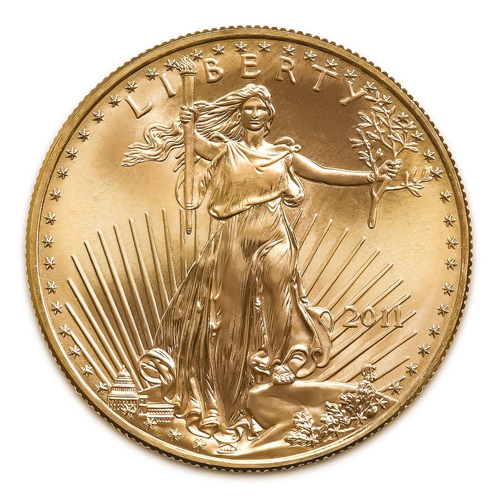 2011 American Gold Eagle 1/2 oz Uncirculated