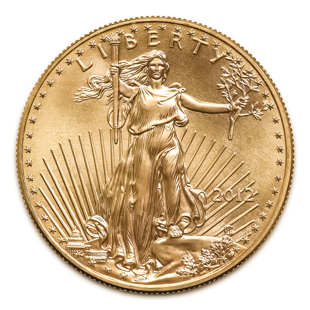 2012 American Gold Eagle 1/4 oz Uncirculated
