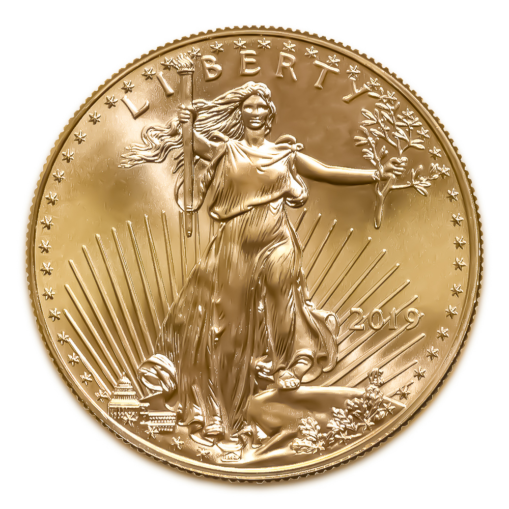 2019 American Gold Eagle 1/4 oz Uncirculated